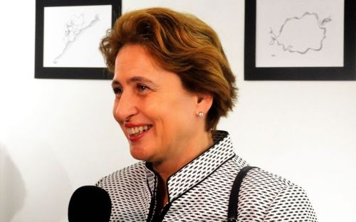 EXPO CENTENAR ANDO. Gilda Lazăr (FOTO AMOS News)