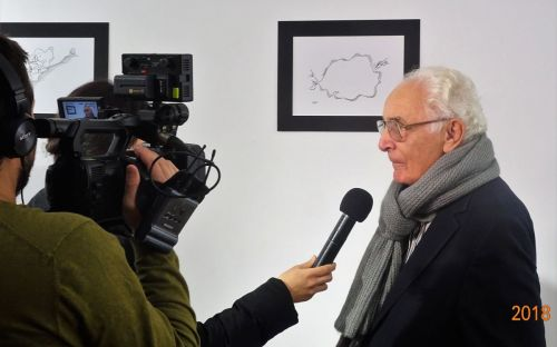 EXPO CENTENAR ANDO. Prof.dr.Dorin Sarafoleanu (FOTO AMOS News)