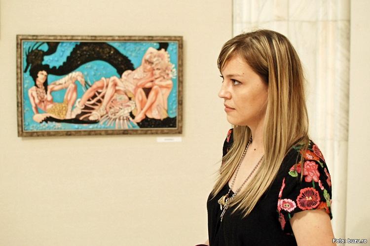 Interviu cu artistul plastic Ana Ștefania Andronic (BUZU)