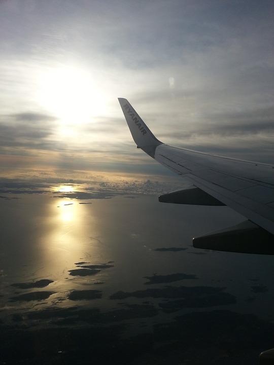 Zbor avion atmosfera