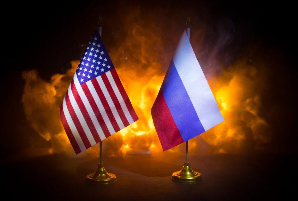 steag SUA RUSIA
