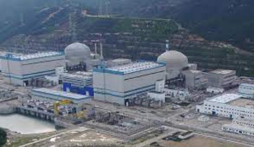 centrala nucleara China