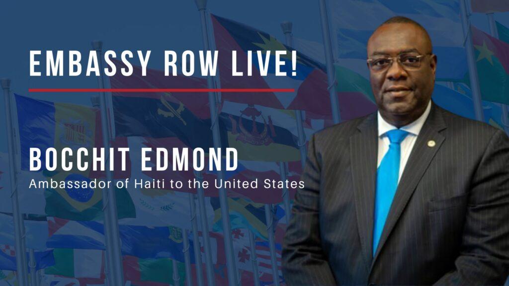 Ambasadorul haitian la Washington, Edmond Bokshi,
