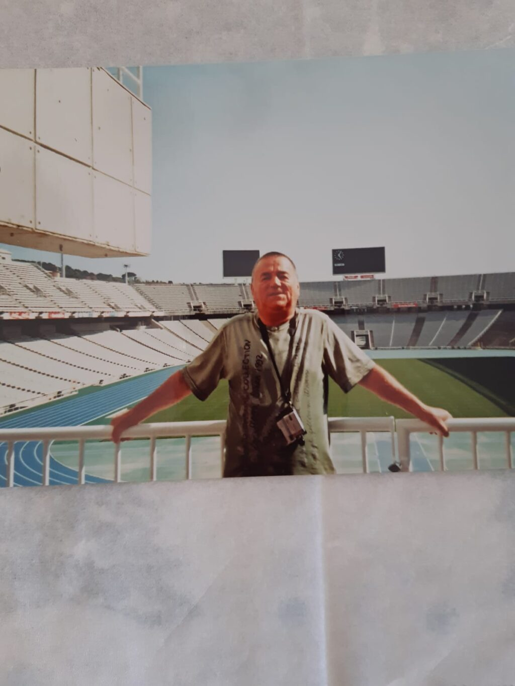 Dumitru Bujdoiu pe stadion