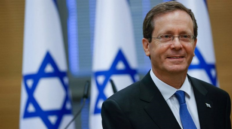 Yitzhak Herzog Presedinte Israel
