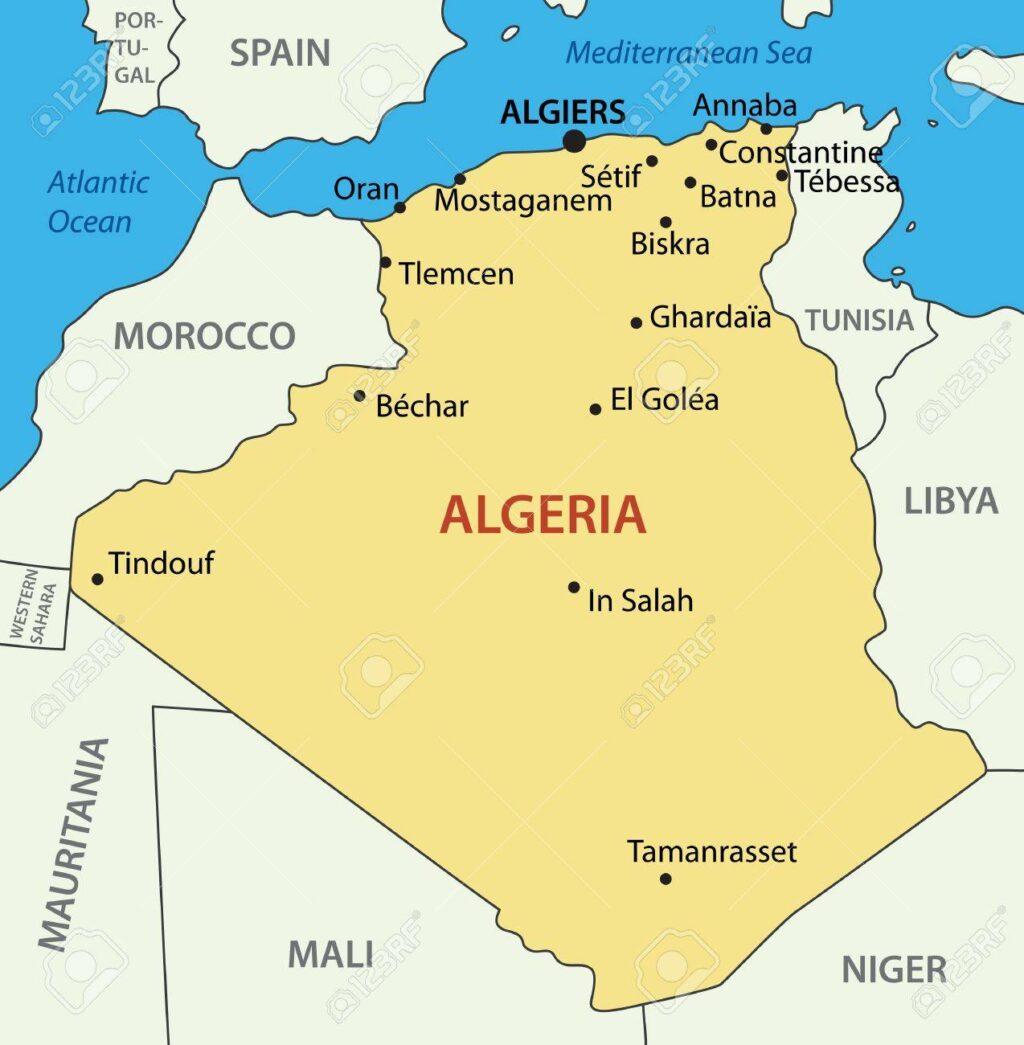 Harta Algeria