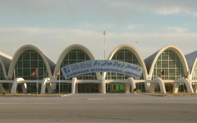aeroport afgan în Kandahar,