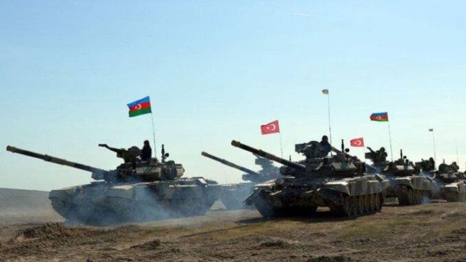 Azerbaijan, Turcia exercitii comune