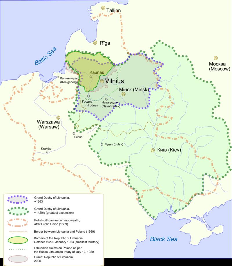 Harta Lituania